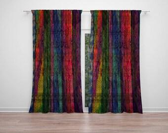 Boho Hippie Chic Window Curtains