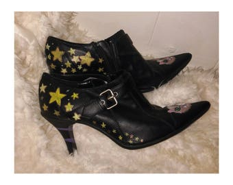 Hand Painted Witch Heels