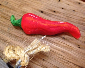 RED CHILE PEPPER Sculpture
