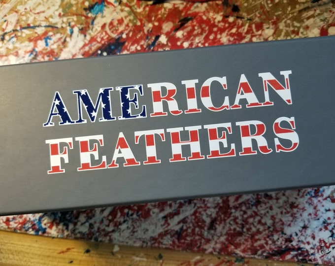 American Feathers Decal