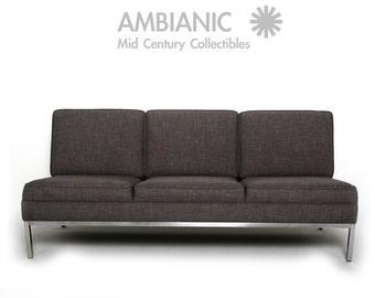 Steelcase Three-Seater Sofa, Knoll Eames Nelson Florence McCobb Era