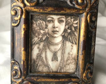 Victorian fairy Mini frame