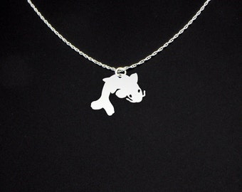 Koi Fish Necklace - Koi Fish Jewelry - Koi Fish Gift
