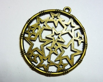 1 charm star bronze 32mm