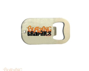 Personalized Custom Logo / Artwork Credit Card Style Bottle Opener