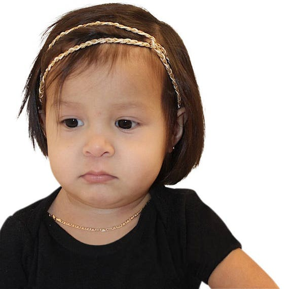 Gold Headband, Baby Shower Gift, Newborn Headbands, Newborn Girl Gift, Newborn Headbands, Infant Headbands, gold headband baby