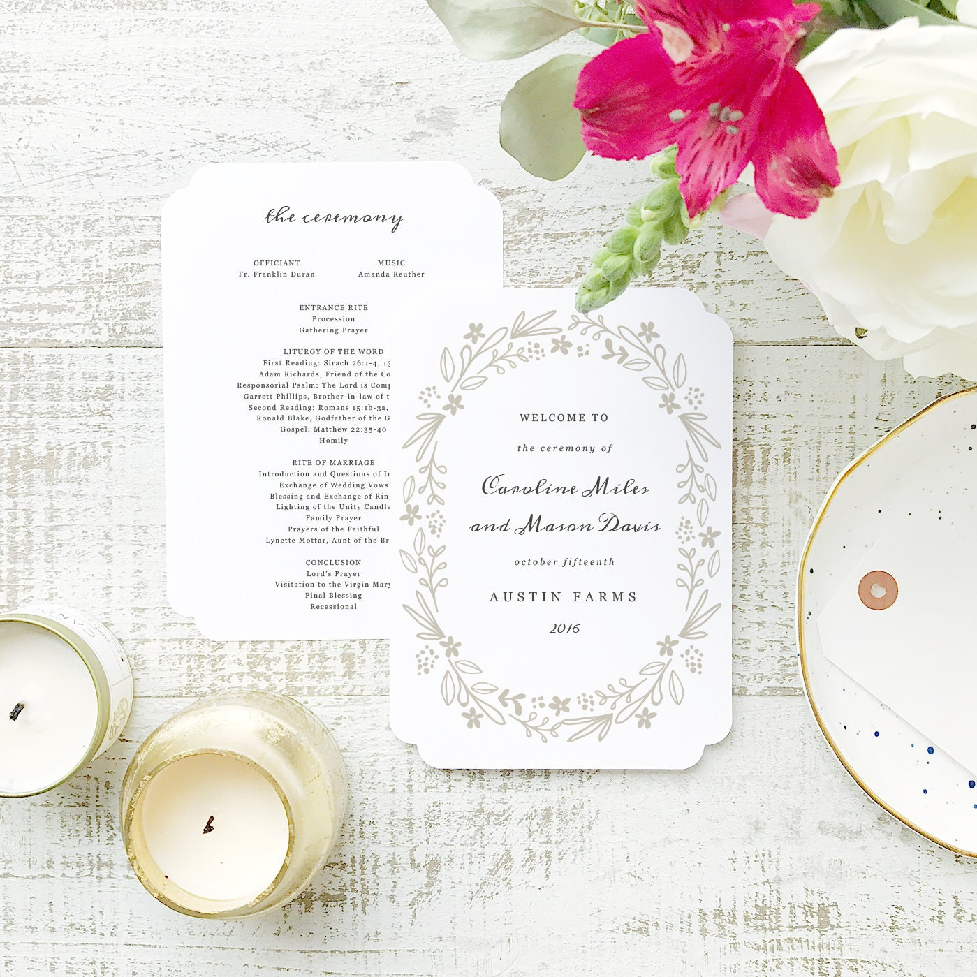 Ungewöhnlich Wort Hochzeitsprogramm Vorlage Zeitgenössisch - Entry ...