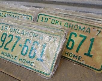 Set 50 License Plates Lot Vintage Automobile Car Truck Tags Some Consecutive jc,  Vintage License Plates, Vintage Car Tags License Plate Art