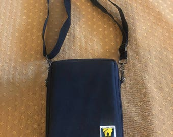 Vintage Portable Cassete Carrying Case Bag Conductor Series