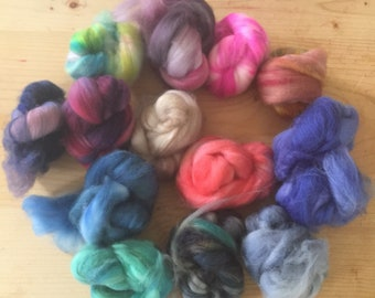 Superwash merino scraps