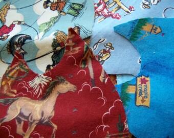 fabric flannel scraps pack six