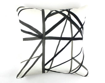 Kelly Wearstler Channels (Both Sides) Pillows -Comes in 4 Colors