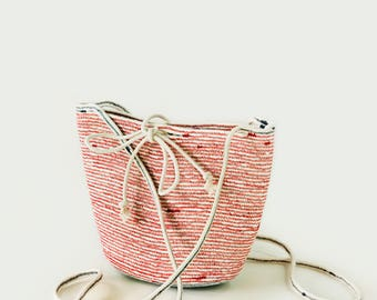 Anna medium rope bag - custom made