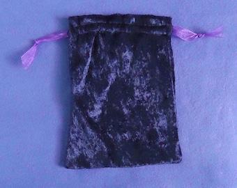 Tarot Bag Large- Purple Crushed Velvet