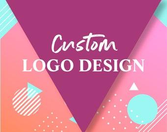 Unlimited Revisions, Professional logo design, custom logo