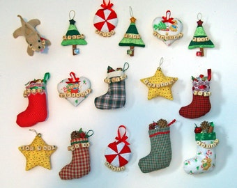 Personalized Christmas Ornaments - MADE TO ORDER