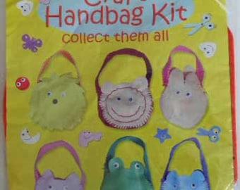 Craft Handbag Kit Cat For Children Stocking Stuffer