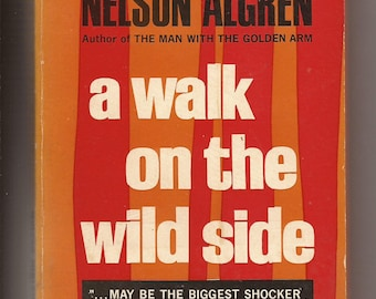 Fawcett Crest, Nelson Algren: A Walk on the Wild Side 1960