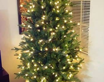 White Christmas Tree Stand Box, replace your tree skirt!