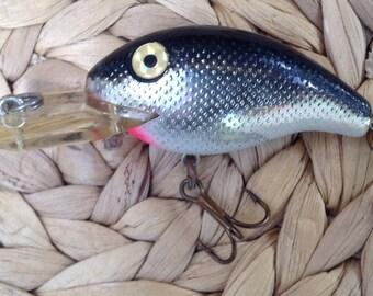 Vintage Rebel Crankbait Fishing Lure