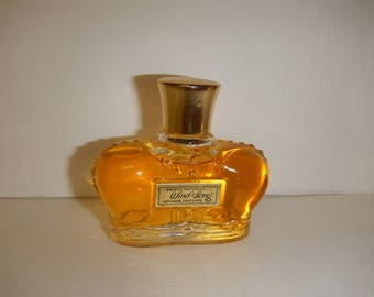 Vintage Perfume PRINCE Matchabelli WIND SONG Cologne Parfumee Perfume Crown Glass Bottle 1 Fl Oz