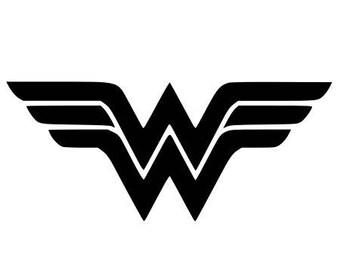 Pattern fusible wonder woman