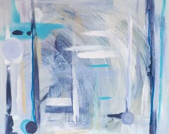 Notes of rain - abstract