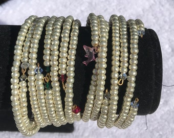 A Pearl Wrapped bracelet