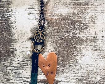 Loved Patina Necklace