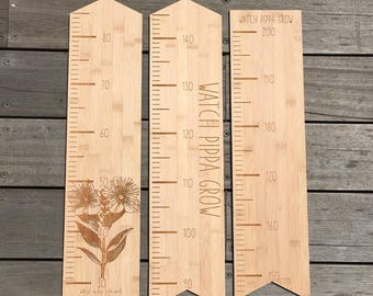 Bamboo Custom Height Chart