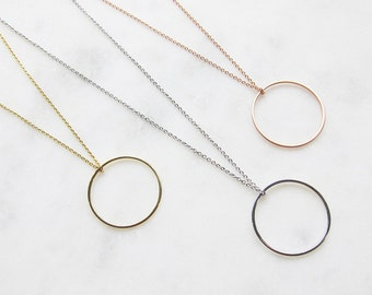 GOLDEN ring chain - brass gold plated