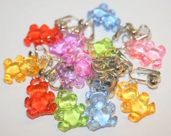 Earrings translucent Cubs child