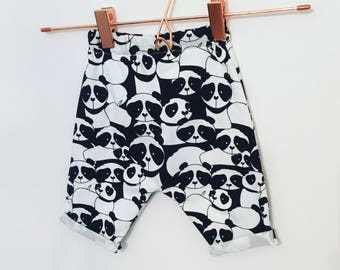 Shorts, panda, handmade