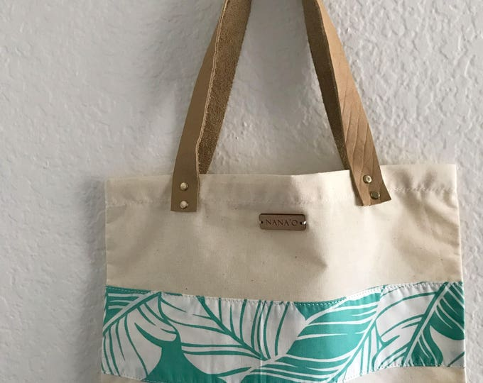 Sea Palms Tote