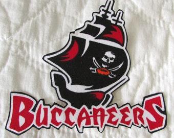 "Tampa Bay Bucaneers ""NO SEW"" Appliques"