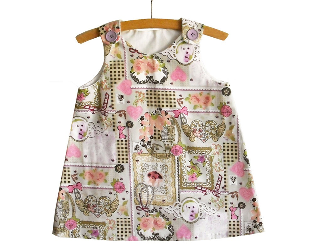 Size 2y 34y a line dress pattern with tutorialtoddler zoom jeuxipadfo Choice Image