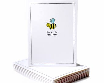 Bee's Knees Encouragement Greeting Card