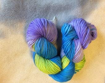 Superwash Merino Wool, Sport Weight Wool, Superwash Wool, Sport Weight Merino, Handdyed Merino, Hand dyed Wool, Hand Dyed Yarn