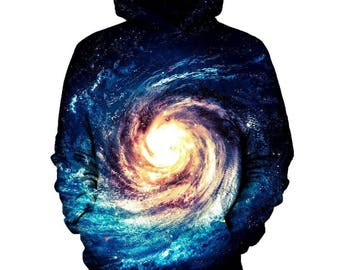 Black Hole Galaxy Hoodie | Rave, EDM, Festival Hoodie