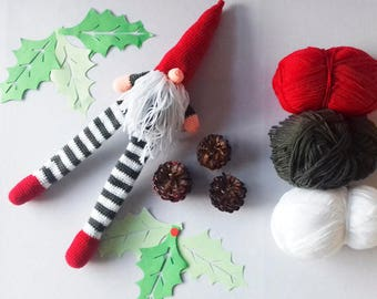 Scandinavian gnome, tomte , nisse , swedish gnome , christmas ornaments, christmas decorations vintage, Christmas Tree, christmas wreath