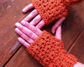 Crochet Fingerless Gloves - Any Colors