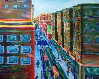 Forbes Avenue Painting