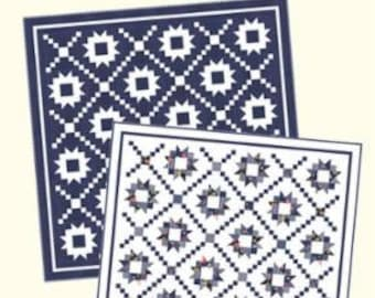 Summer Nights CW 1007 Quilt Pattern designed by Bonnie Olaveson of Cotton Way