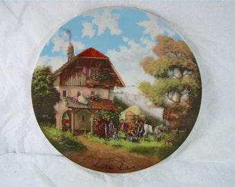 THE BLACKSMITH Seltmamn Weiden German Porcelain Art plate coa! new! mib!