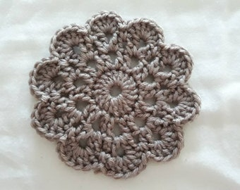 Handmade Crocheted Coasters (Set of 4)