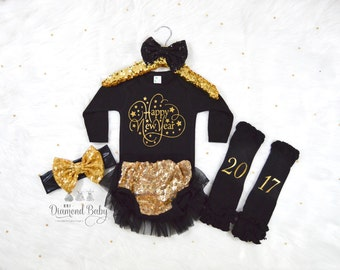 New Year Baby Outfit-Happy New Year outfit-New Year Outfit-New Years Outfit