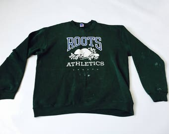 Roots Athletics Canada Vintage Russell Athletic Made in USA