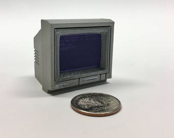 Mini Commodore 1084 monitor - 3D Printed!