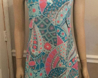 Super groovy cute 70's dress by Cassee size 6