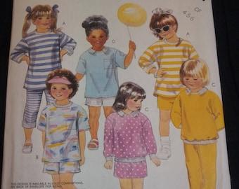 McCalls #3202 Children's Stretch Knit Sewing Pattern